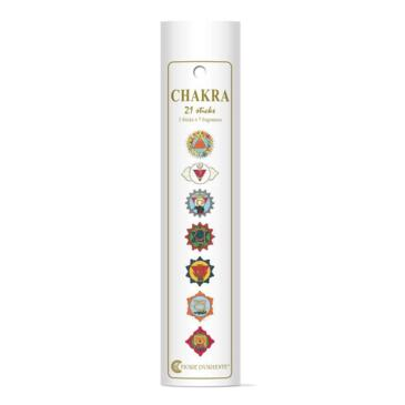 Incenso dei Chakra Incense Box, 3 sticks X 7 Fragranze ( tot 21 sticks)