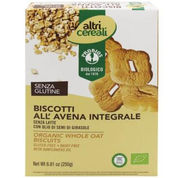 Biscotti all'Avena integrali