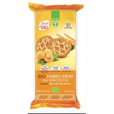 Farro fruit all'albicocca 4x50g