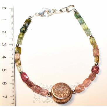 Bracciale con Tormalina Policroma Super Extra - Africa