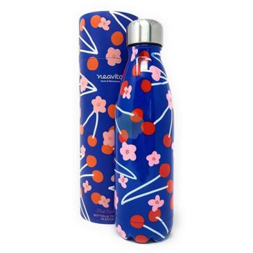 Thermos Bottiglia Watercolor Ciliegie