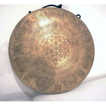 Gong in bronzo Inciso 43cm