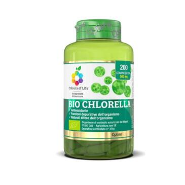 Bio Chlorella 200 compresse da 500 mg