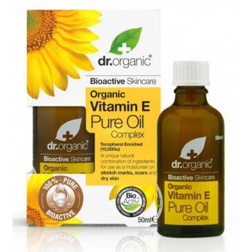 Organic vitamina E pure oil complex - olio puro 50ml