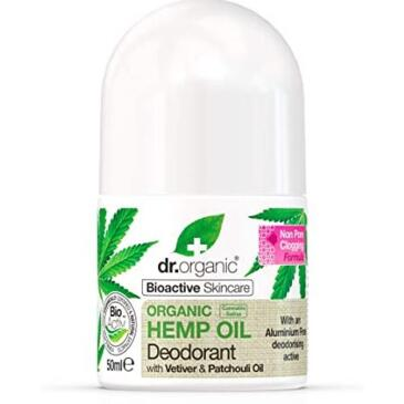Organic Hemp oil deodorante 50 ml