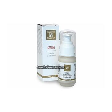 Serum (siero) per pelli sensibili al mirtillo 30ml