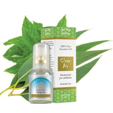 Deodorante ambiente bio Clean Air
