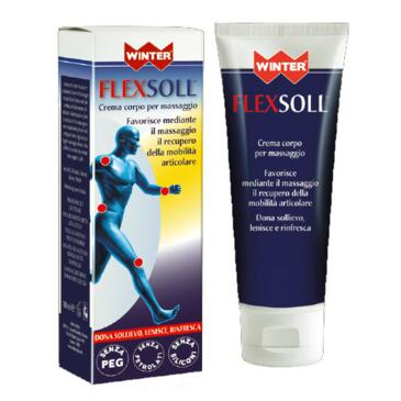 Flexsoll Crema corpo per massaggio 100ml