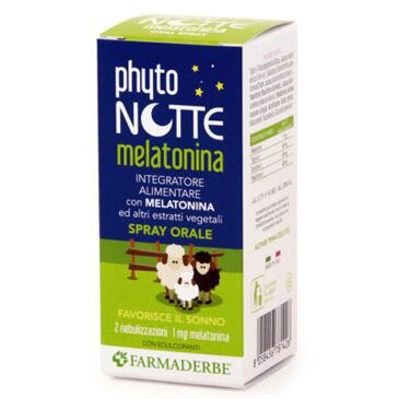Phyto Notte Melatonina SOS Spray Orale 30ml